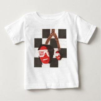 Emoのさくらんぼの乳児のTシャツ ベビーTシャツ