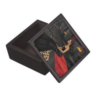 Emoのゴシックの女の子の記念品箱 ギフトボックス