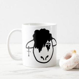 Emoのヒツジ コーヒーマグカップ