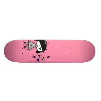emoの女の子 カスタムスケートボード