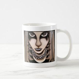 Emoの女の子 コーヒーマグカップ