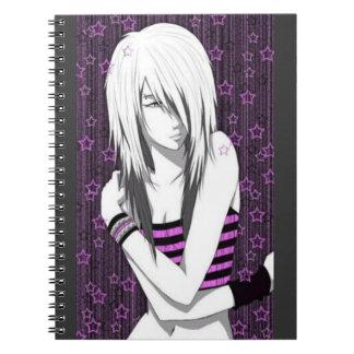Emoの日本製アニメの女の子Item.2 (ノート) ノートブック