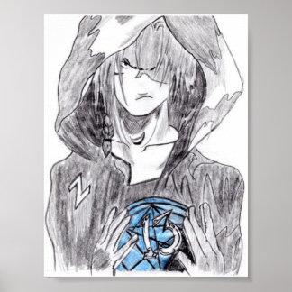 Emoの男の子 ポスター