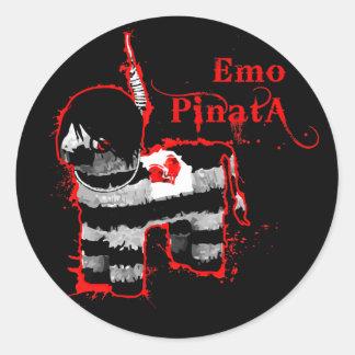 emoのpiñata ラウンドシール