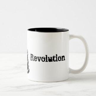 emoは、改革、これあります ツートーンマグカップ