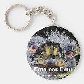 emo、Emoのないエミュー、 キーホルダー