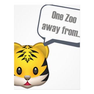 - Emojiから遠くにな1つの動物園 レターヘッド