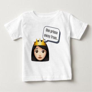 Emojiから遠くにな1人の王子 ベビーTシャツ