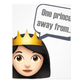 Emojiから遠くにな1人の王子 レターヘッド