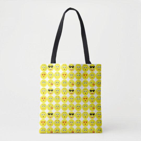 Emojiかわいいパターン トートバッグ