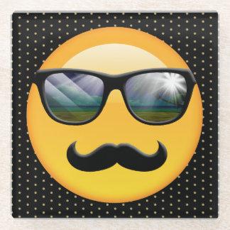 Emojiによってすごい影があるID230 ガラスコースター