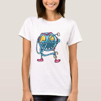 Emojiのおもしろい Tシャツ