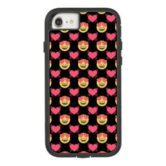 Emojiのかわいいユニコーンおよびハートパターン Case-Mate Tough Extreme iPhone 8/7ケース