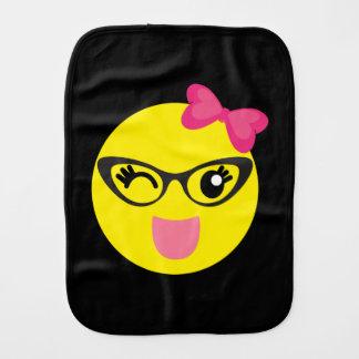 Emojiのかわいい女の子 バープクロス