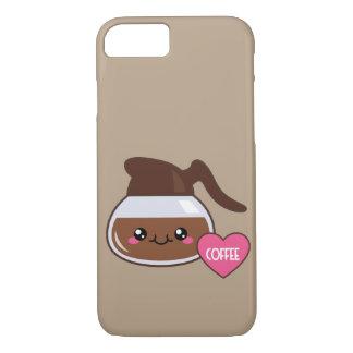 Emojiのコーヒーポット iPhone 8/7ケース