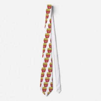 Emojiのフライドポテト オリジナルネクタイ