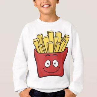 Emojiのフライドポテト スウェットシャツ