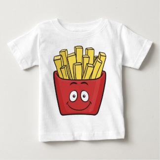 Emojiのフライドポテト ベビーTシャツ