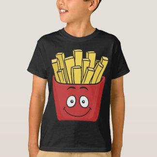 Emojiのフライドポテト Tシャツ