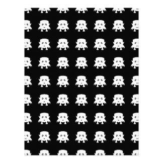 Emojiのベビーの吸血鬼パターン レターヘッド