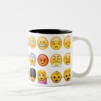 Emojiのマグ ツートーンマグカップ