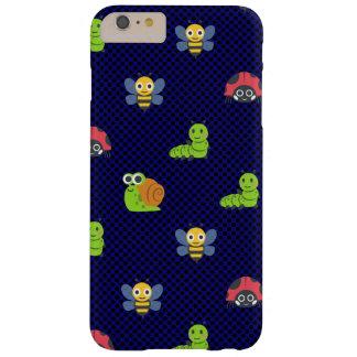 emojiの女性虫の幼虫のかたつむりの蜂の水玉模様 barely there iPhone 6 plus ケース