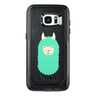 Emojiの幸せなラマ オッターボックスSamsung Galaxy S7 Edgeケース