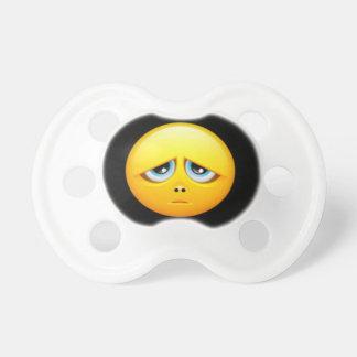 Emojiの悲しいダミー、調停者0-6か月のBooginHead®の おしゃぶり