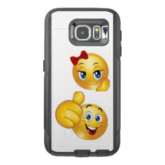 Emojiの携帯電話の箱 オッターボックスSamsung Galaxy S6ケース