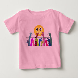 Emojiの極度のTシャツ ベビーTシャツ
