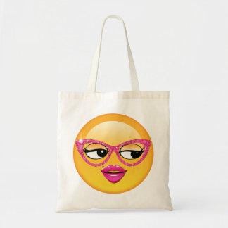 Emojiの気のあるそぶりをしたな女の子ID227 トートバッグ