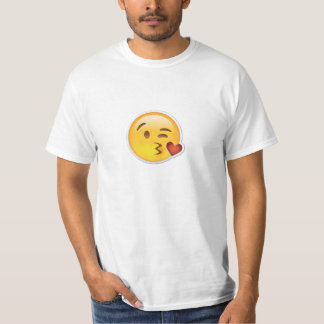 Emojiの素晴らしいキスをするなTシャツ Tシャツ