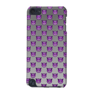 Emojiの紫色の悪魔 iPod Touch 5G ケース