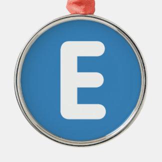 emojiのTwitter -手紙E メタルオーナメント
