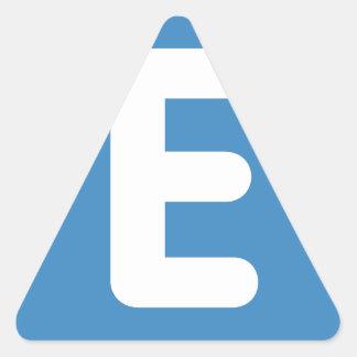 emojiのTwitter -手紙E 三角形シール