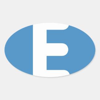 emojiのTwitter -手紙E 楕円形シール