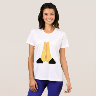 Emojiを祈ること Tシャツ
