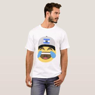 Emojiを笑わせるエルサルバドルの帽子 Tシャツ