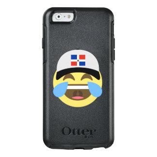 Emojiを笑わせるドミニカ共和国の帽子 オッターボックスiPhone 6/6sケース