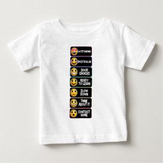 emojiスペクトル ベビーTシャツ