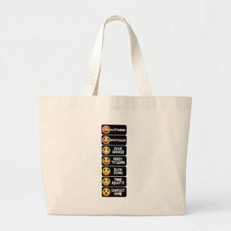 emojiスペクトル ラージトートバッグ