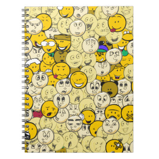 Emojiパターン ノートブック