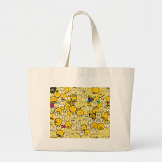 Emojiパターン ラージトートバッグ