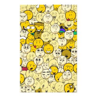 Emojiパターン 便箋