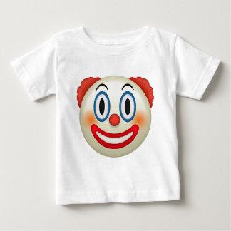 Emoji熱狂するなピエロ ベビーTシャツ