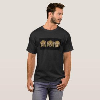 Emoji猿のピーカブー Tシャツ