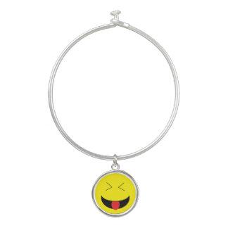 """""""Emoji""""の腕輪のチャームブレスレット バングルブレスレット"""
