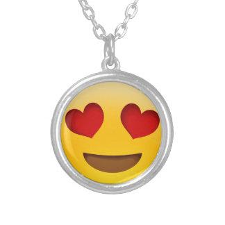 Emoji シルバープレートネックレス