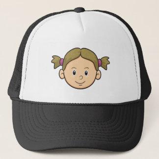 Emoji: 女の子 キャップ