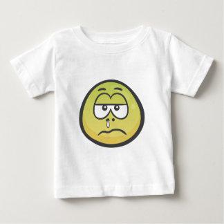 Emoji: 病気の顔 ベビーTシャツ